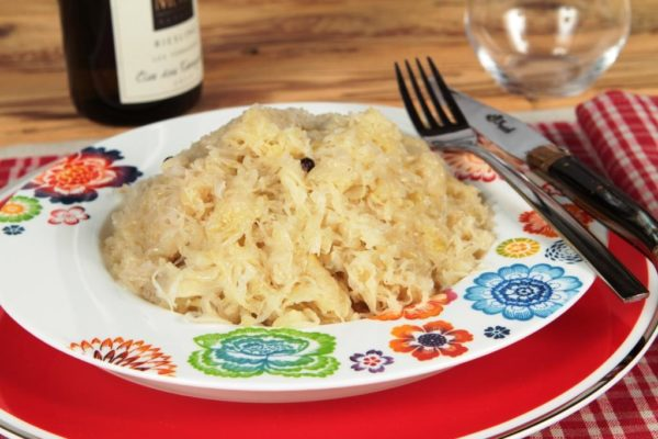 choucroute cuisinee alsacienne