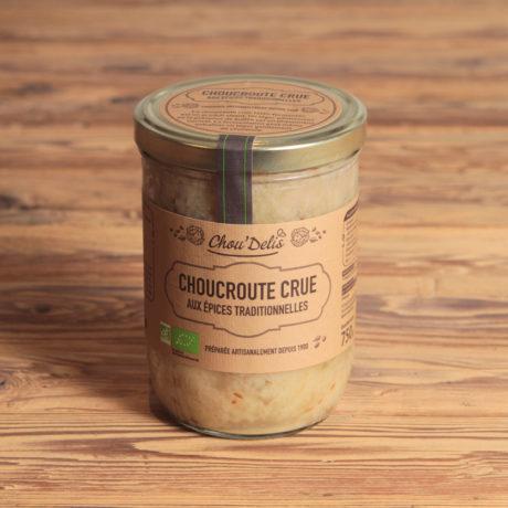 Choucroute bio aux épices traditionnelles